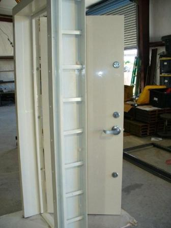FEMA 320 SAFE ROOM DOOR TWO PART FRAME