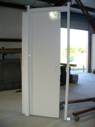Security Rated Sliding Pocket Door