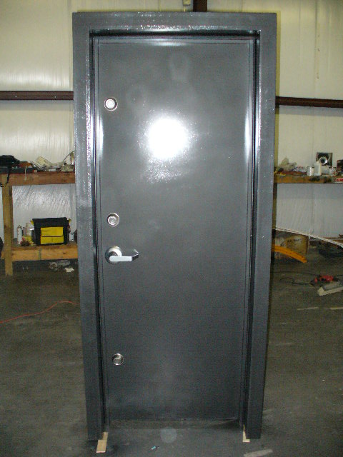 Custom Safe Room Door