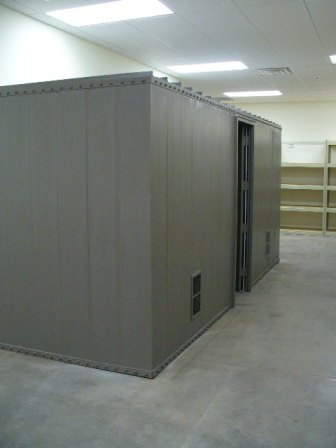Safe rooms gun vaults modular vault security rooms safe - Are modular homes safe ...