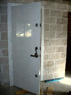 SECURITY AND WIND RATED DOOR