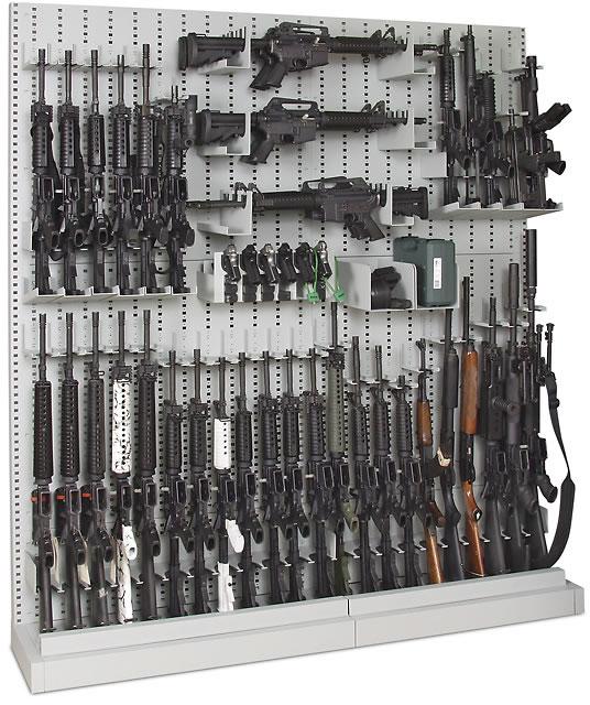 Single Gun Rack Storage Pictures to pin on Pinterest